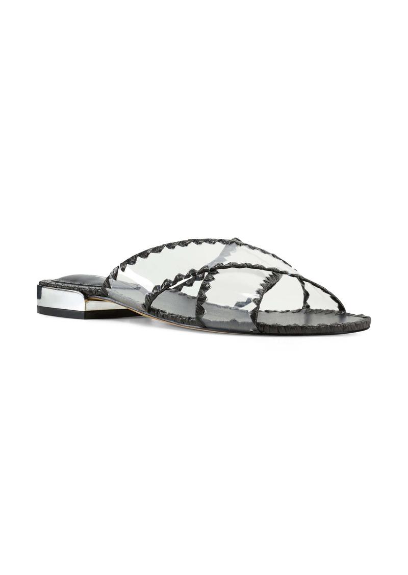 Nine West Ieni Clear Woven Sandal