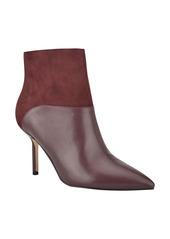 Nine West Neddie Leather Bootie (Women)