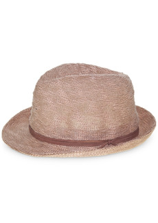 Nine West Textured Knit Fedora Hat