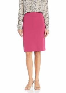 NINE WEST Women's Drapey Crepe Slim Skirt  M