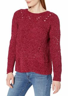 NINE WEST Women's Monica Lush Chenille Sweater