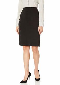 NINE WEST Women's Stripe Knit Slim Skirt