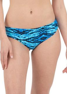Nine West Scoop Printed Bikini Bottom