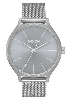 Nixon Clique Mesh Bracelet Watch, 38mm