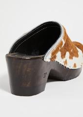No.6 Old School Mid Heel Clogs