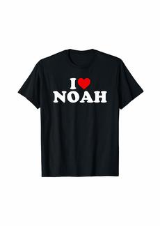 I Love Noah - Heart T-Shirt