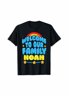 Noah Pregnancy Announcement Baby 9 Month Celebration T-Shirt