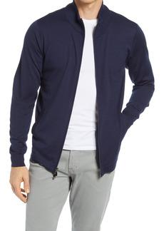 Men's Big & Tall Nordstrom Coolmax Zip Cardigan