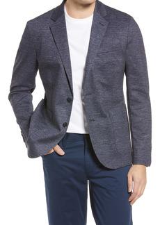 Men's Nordstrom Extra Trim Fit Space Dye Knit Sport Coat