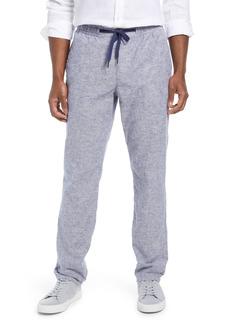Men's Big & Tall Nordstrom Linen & Cotton Blend Drawstring Pants