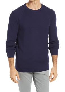 Men's Big & Tall Nordstrom Textured Raglan Sleeve Sweater