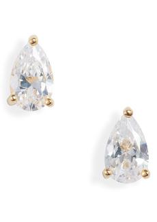 Nordstrom 2ct Pear Stud Earrings