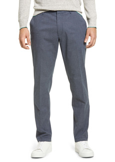 Nordstrom Athletic Fit CoolMax® Flat Front Performance Chino Pants