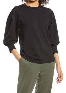 Nordstrom Ballon Sleeve Sweatshirt