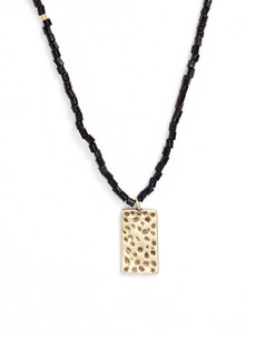 Nordstrom Beaded Pendant Necklace