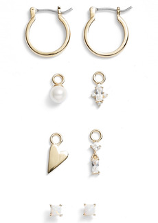 Nordstrom Build Your Own Ear Party Charm & Stud Earrings Set