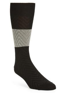Nordstrom Colorblock Crew Socks