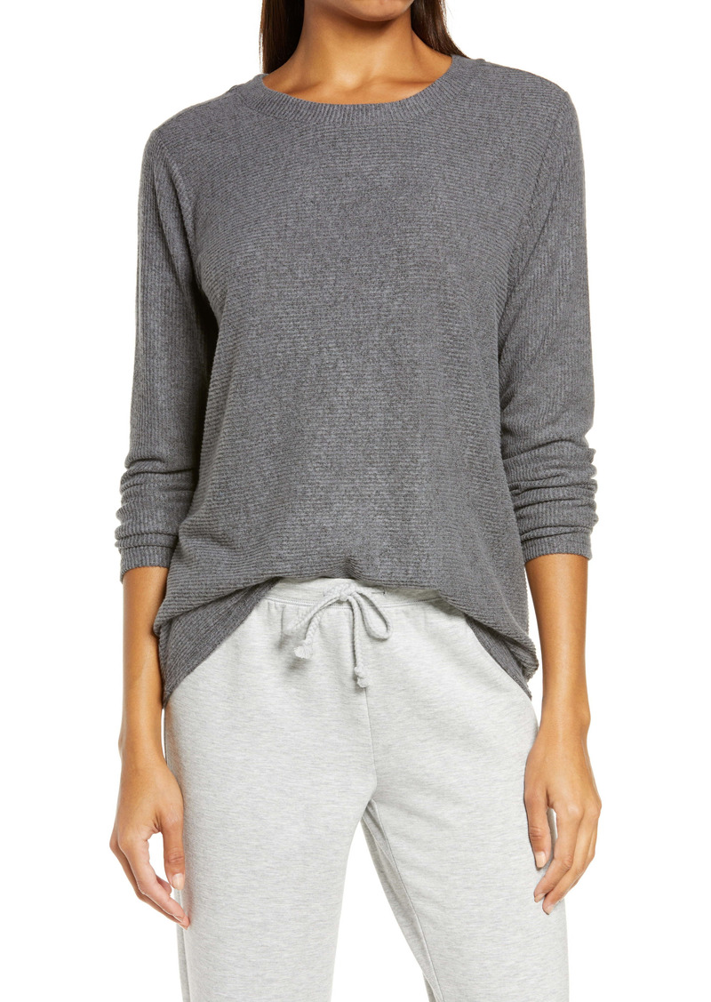 Nordstrom Hacci Rib Lounge Top