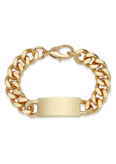 Nordstrom Men's ID Curb Chain Bracelet