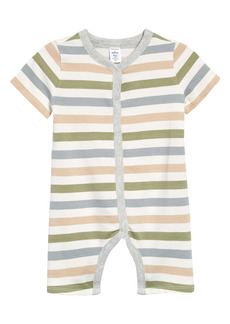 Nordstrom Kids' Everyday Stripe Romper (Baby)