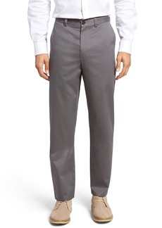 Nordstrom Classic Smartcare™ Relaxed Fit Flat Front Cotton Pants