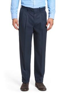 Nordstrom Classic Smartcare™ Pleated Supima® Cotton Dress Pants