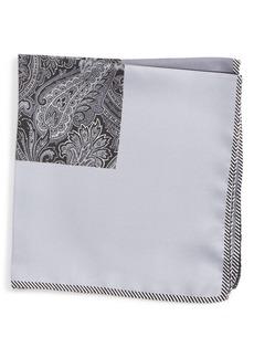 Nordstrom Five Panel Silk Pocket Square
