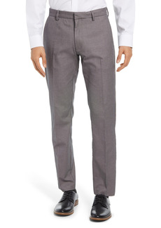 Nordstrom Men's Shop Non-Iron Athletic Fit Textured Pants