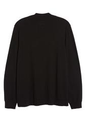 Nordstrom Quarter Zip Cashmere Sweater
