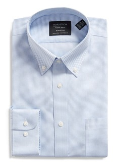 Nordstrom Men's Shop Smartcare™ Traditional Fit Microcheck Dress Shirt