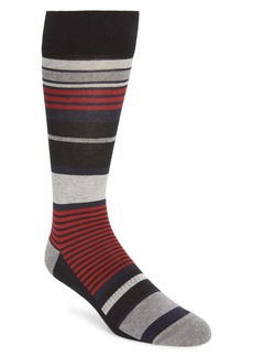 Nordstrom Stripe Cushion Foot Socks (Buy More & Save)