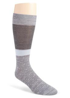 Nordstrom Ultrasoft Stripe Sock
