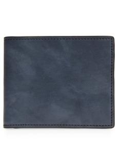 Nordstrom Modern Burnished Leather Bifold Wallet