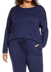 Nordstrom Moonlight Dream Pajama Top (Plus Size)