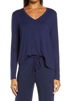 Nordstrom Moonlight Dreamy V-Neck Pajama Top