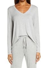 Nordstrom Moonlight Dreamy V-Neck Pajama Top