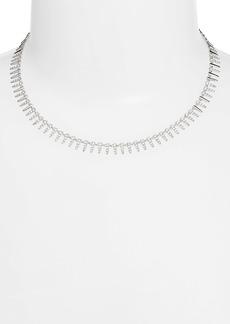 Nordstrom Pavé Modern Spike Necklace