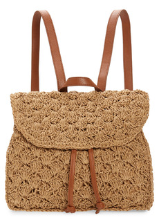 Nordstrom Ravi Straw Backpack