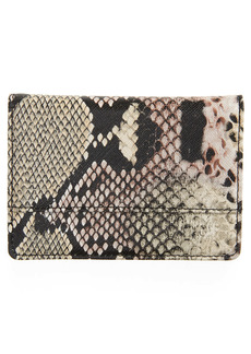 Nordstrom Ruby Saffiano Leather Cardholder