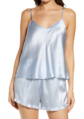 Nordstrom Short Silk Pajamas