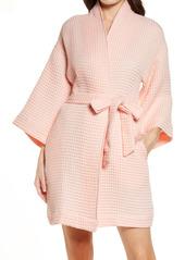 Nordstrom Short Waffle Knit Robe
