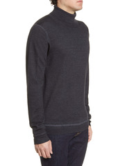 Nordstrom Signature Merino Wool Garment Dye Turtleneck Sweater