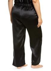 Nordstrom Silk Pajama Pants (Plus Size)