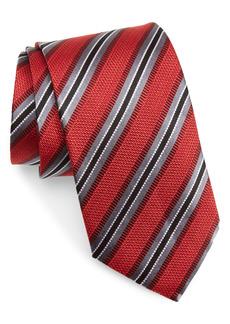 Nordstrom Stripe Silk X-Long Tie