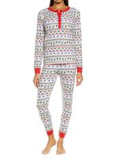 Nordstrom Fam Jam Two-Piece Thermal Pajamas