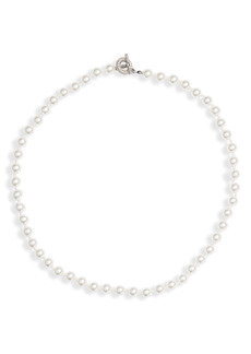 Nordstrom Timeless Imitation Pearl Collar Necklace