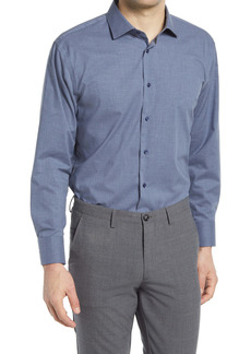 Nordstrom Trim Fit Non-Iron Chambray Dress Shirt