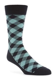 Nordstrom Ultrasoft Buffalo Check Socks