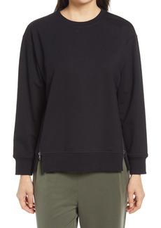 Nordstrom Women's Side Zip Sweatshirt