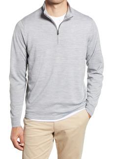 Men's Big & Tall Nordstrom Men's Shop Tech-Smart Coolmax Quarter Zip Pullover